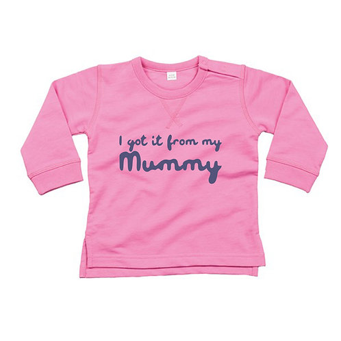 Got It From My Mummy Baby Jumper