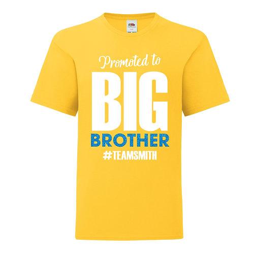 Personalised Big Brother BoysT-Shirt