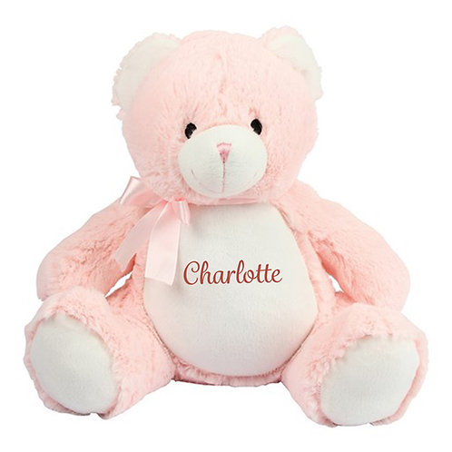 New Baby Embroidered Teddy Bear