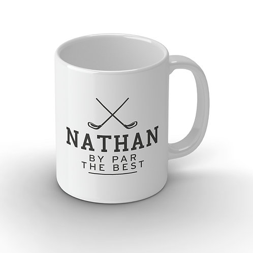 Personalised Best Golfer Ceramic Mug