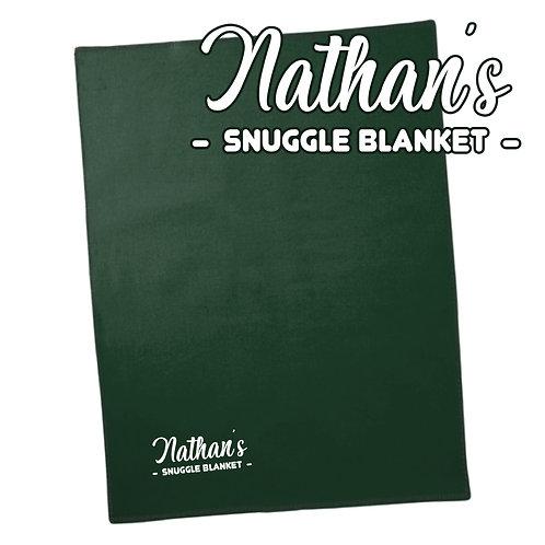 Personalised 'Snuggle' Luxury Blanket