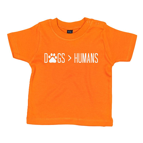 Dogs Over Humans Baby T-Shirt