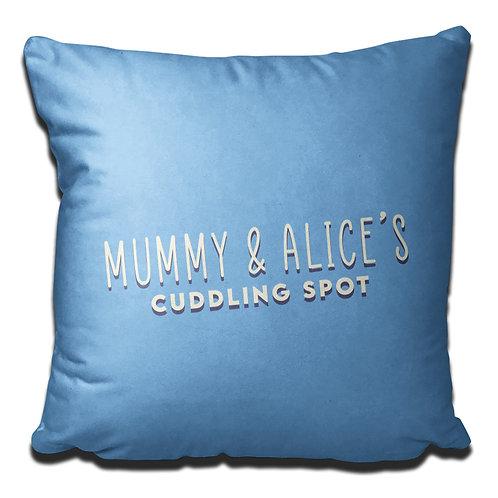 Personalised Cuddling Cushion