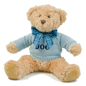 Personalised Large Luxury Teddy Bear with Jumper