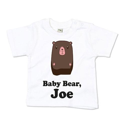 Personalised Baby Bear Tshirt