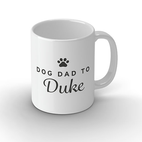 Personalised Dog Parent Ceramic Mug
