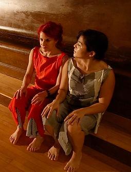 """Megan Lowe & Sonsherée Giles - """"Meeting Room"""""""