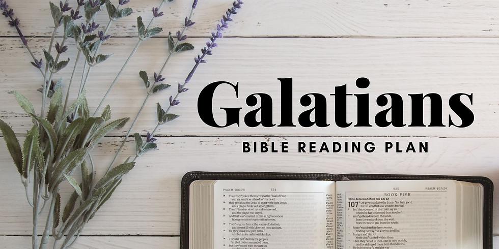 Galatians Bible Reading Plan