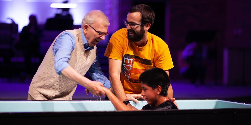 Baptism Celebration [RESCHEDULED]