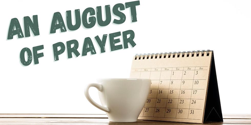 An August of Prayer