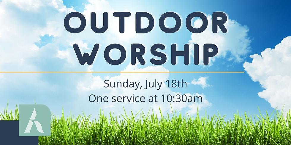 Outdoor Sunday Worship