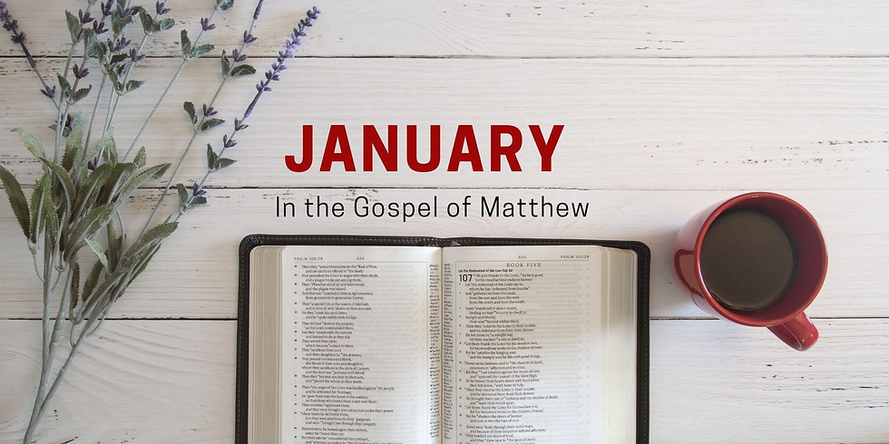 January in the Gospel of Matthew