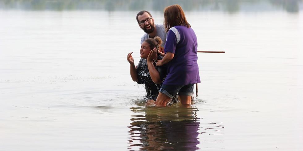 Lime Lake Baptism