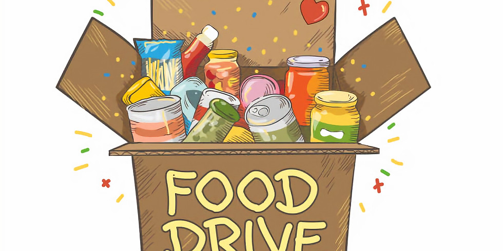 Youth Group Drive thru Food Drive