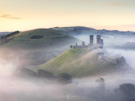 Dorset Landscape Photography Locations, Corfe Castle