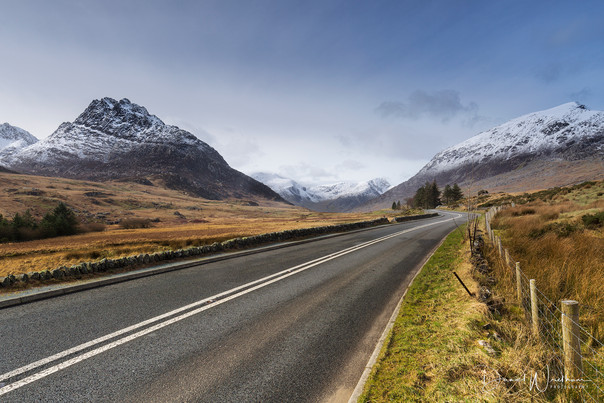 The Road to the Ogwen Valley
