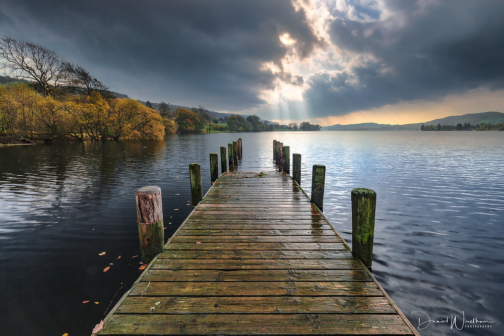Rigg Wood Jetty, The Lake District