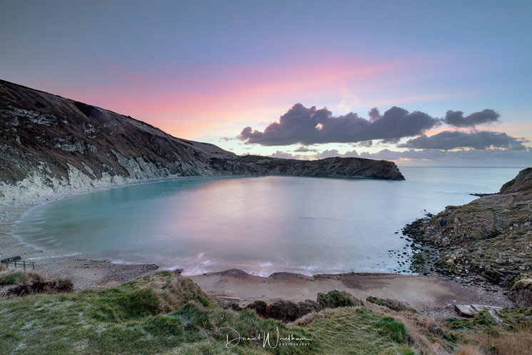 First Light at Lulworth Cove
