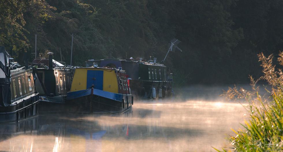 Morning Mist on the Wiltshire Avon