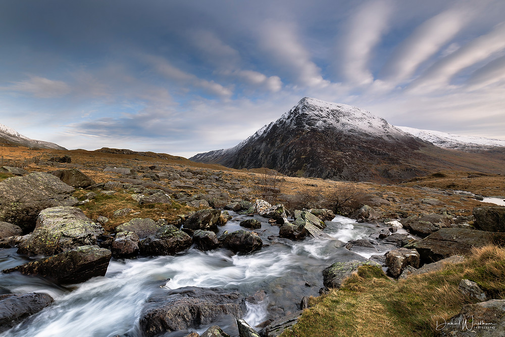 Snowdonia, Snowdon View, Landscape Photography, Blog, Daniel Wretham, Light, Photographing Snowdonia, Pen yr Ole Wen, Mountain
