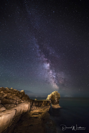Milky Way over Pulpit Rock