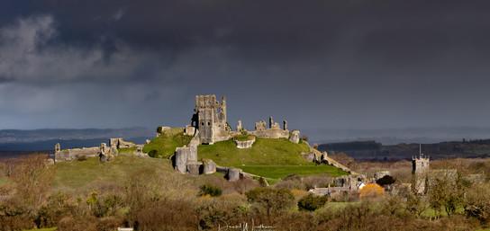 Corfe Castle Storm