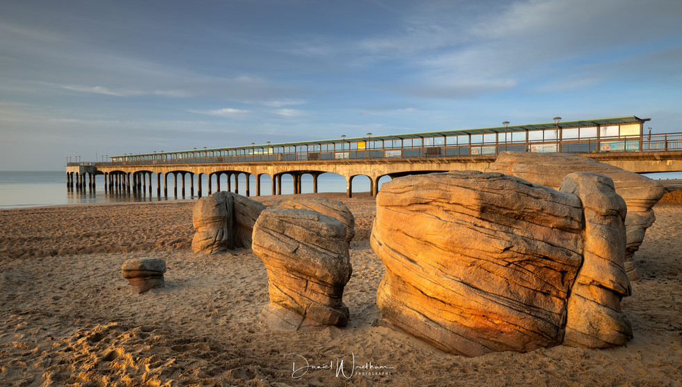 Gold on Boscombe Boulders
