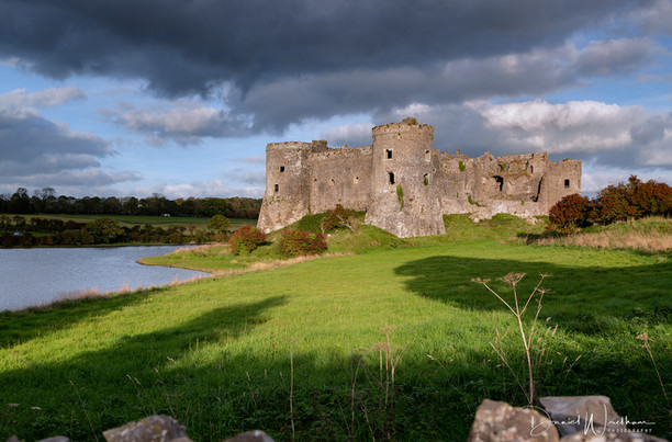 Contrast at Carew Castle