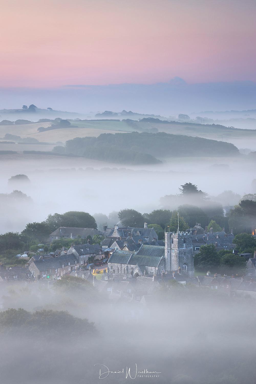 Corfe Village Mist