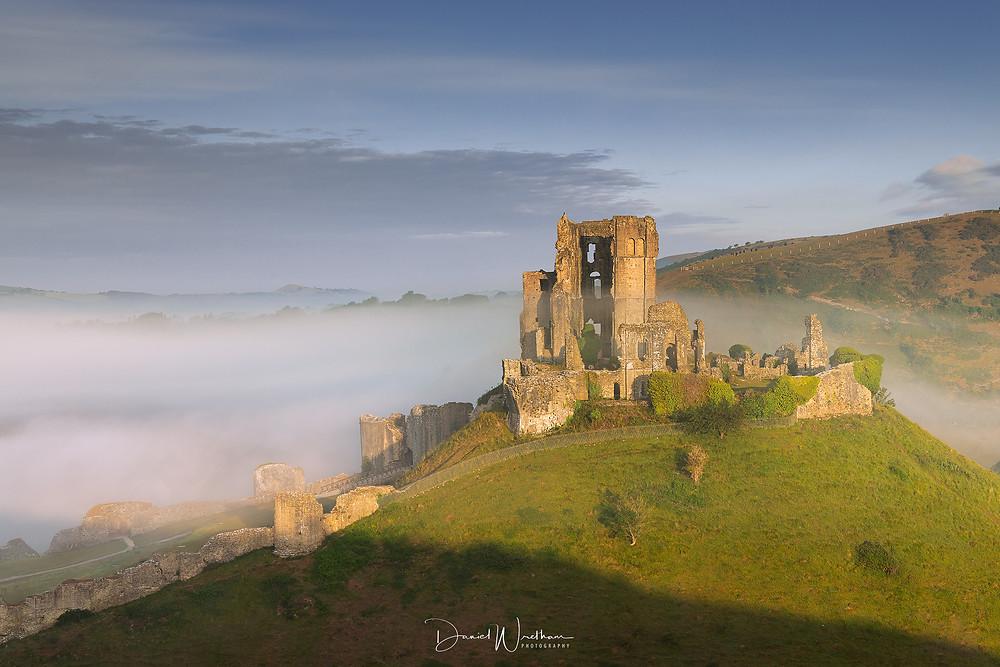 Corfe Castle East Hill