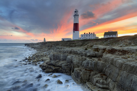 Portland Bill Sunset