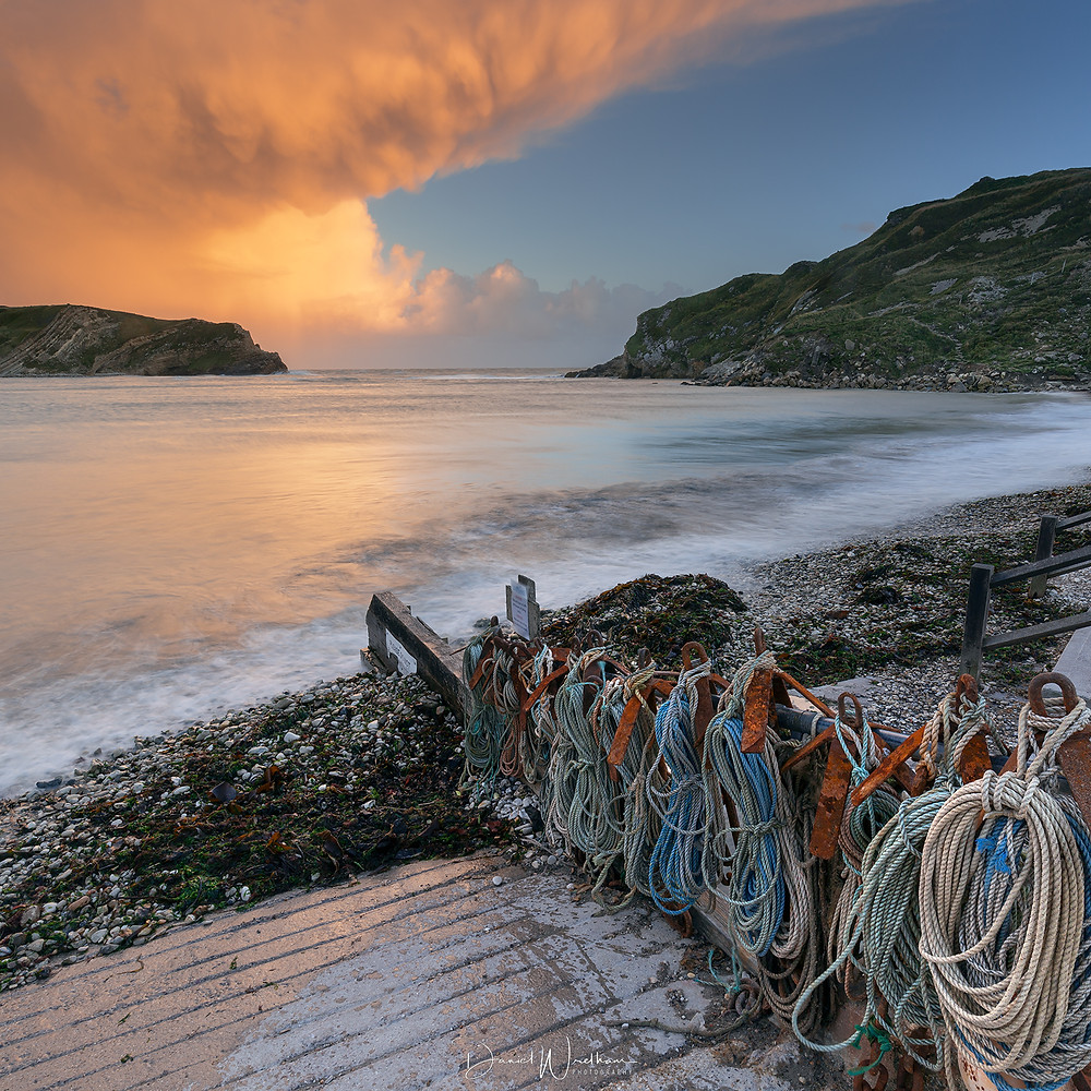 Lulworth Cove Sunset, Best photography locations dorset