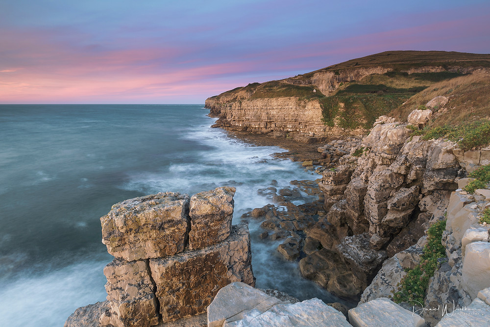Winspit Bottom, Winspit Sunrise, Dorset