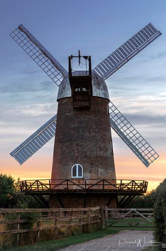 Sunset at Wilton Windmill