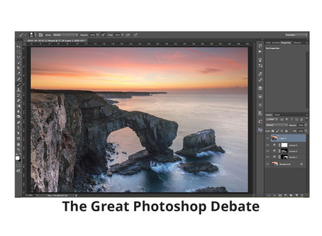 The Great Photoshop Debate