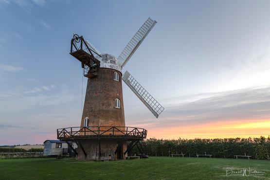 Wilton Windmill at Sunset