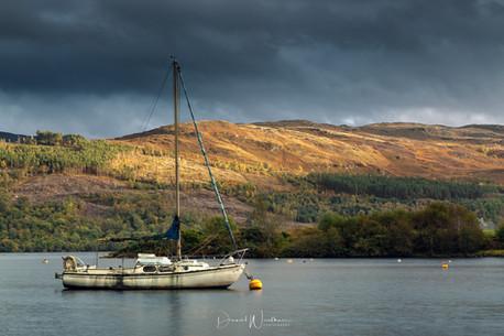 Light at Loch Ness