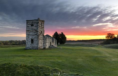 Knowlton Church Sunrise