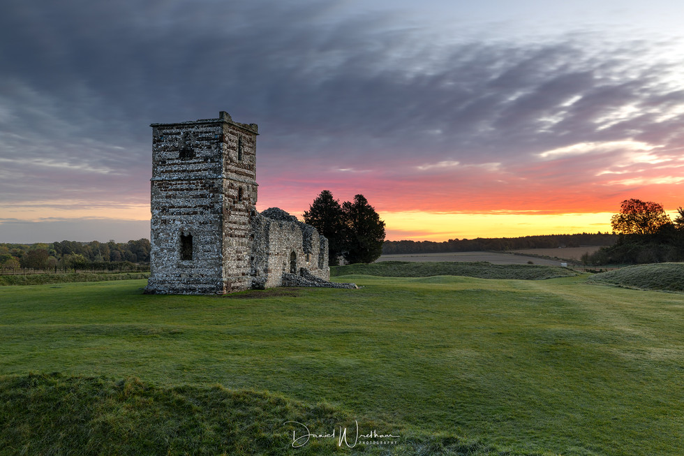 Knowlton Church Sunrise