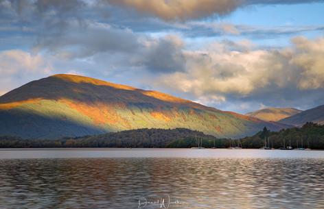 Contrasting Light at Loch Lomond