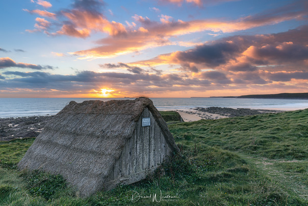 Seaweed Dying Hut Freshwater West