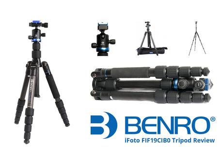 Benro iFOTO FIF19CIB0 Travel Tripod Review