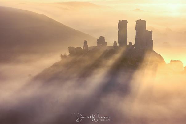 Corfe Castle Shadows