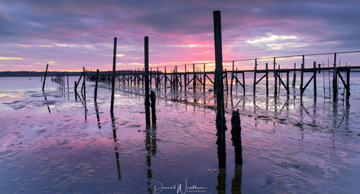 Evening Hill Jetty Afterglow