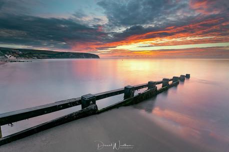 Swanage Beach Sunrise