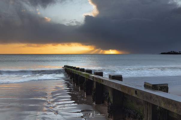 Storm Jorge at Swanage
