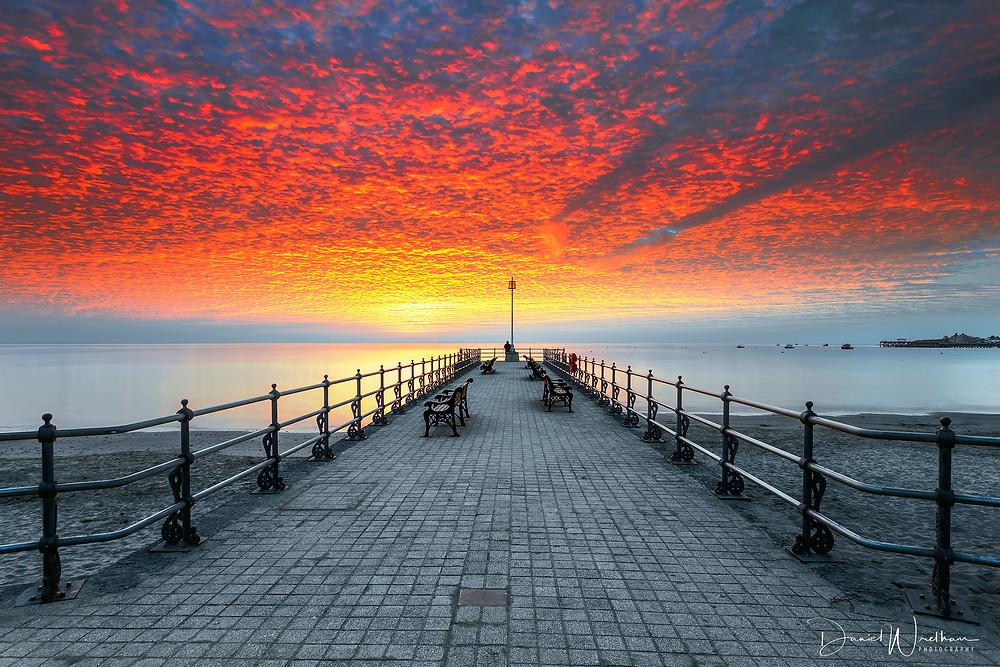 Amazing Sunset, Swanage Sunrise, Dorset