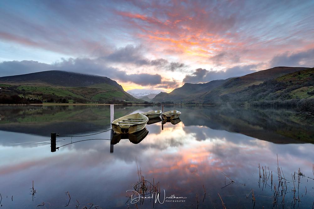 Nantlle Sunrise, Snowdonia, Crib Goch, Snowdon View, Landscape Photography, Blog, Daniel Wretham, Light, Photographing Snowdonia, llyn Nantlle, Sunrise, sunset
