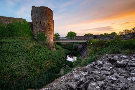 White Castle Sunset