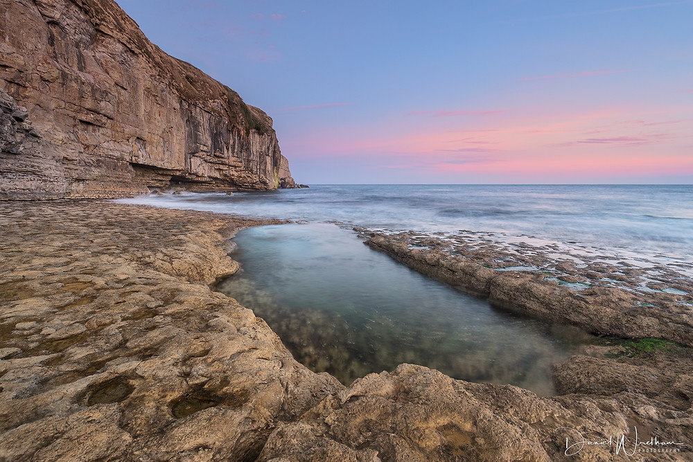 daniel wretham, landscape photography, dancing ledge, sunset, sunrise, lee filters